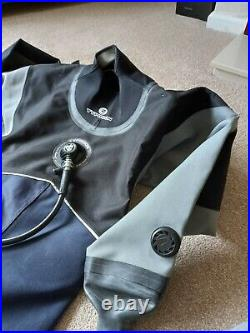 TYPHOON scuba diving dry suit Small, boots UK size 5 excellent condition