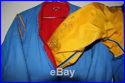 Two Scuba Diving Dry Suits (Imperial, XL & S), with fleece-lined undergarments