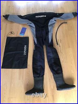 Typhoon Drysuit Scuba Brand New Neck seal Medium Size 10/11 Boot