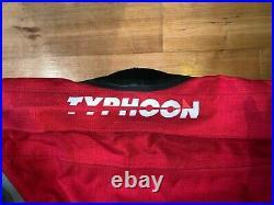 Typhoon TRX Scuba Diving Dry Suit size large in excellent condition