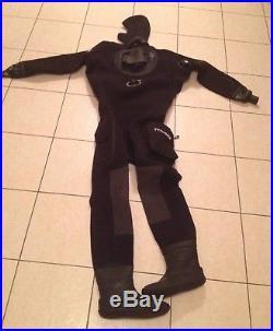 Typhoon scuba diving drysuit large
