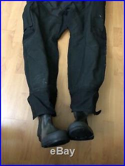 USIA Aqua Drysuit Bioflex Scuba Diving Suit With Boots L