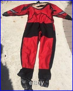 USIA Drysuit and Exotherm 1 Mens Large Scuba Dive Fire Department Rescue Diver