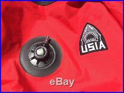 USIA Drysuit and Exotherm 1- Mens Medium Scuba Dive Fire Department Rescue Diver