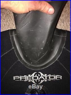 Uk Custom made Predator Dry Suit, Diving, Commercial Diving, Scuba Diving