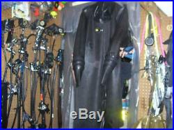 Ultra Rare Avon Black Heavy Rubber Drysuit Scuba Diving Large Size 4 NEW SEALS