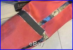Ursuit Heavy Light DrySuit Medium M Size 8/9 Boot Dry Suit Black Scuba Diving