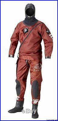 Ursuit Heavy Light Rescue scuba diving dry suit XL