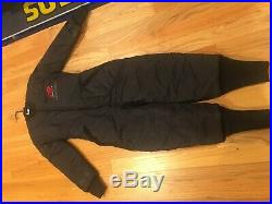 Used once Pinnacle evolution 2 drysuit with liner scuba gear dry suit pn072b-ml