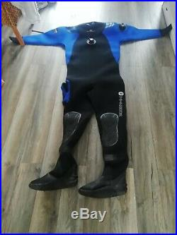 Used scuba diving dry suit