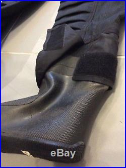 Very Rare Ex Royal Navy made with Kevlar Membrane Scuba Diving Dry Suit Size4 M