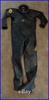 Viking Dry Suit Scuba Diving HDS 1000 Siize 3 #1