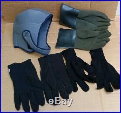 Viking Drysuit Parts Lot Zip Gloves Ring Inserts Snoopy Scuba Diving Dive