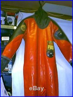 Viking Pro Rubber Scuba Diving Drysuit Size 02