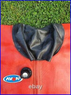 Vintage Avon Rubber Drysuit For Scuba Diving Factory Rare Sample XL Size3