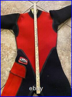 Vintage Bayley Suit Skin Diving Wet Dry 60s 70s Patch Scuba Water Sports Wetsuit