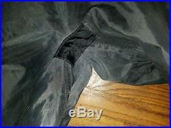 Vintage DUI TLS 350 Black Drysuit Mens XL Scuba Dive Diving