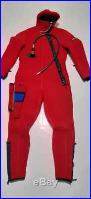 Vintage michel drysuit scuba diving size 4 medium