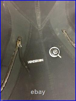 Vintage scuba Drysuit Henderson Crushed Neoprene
