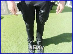 WHITES FUSION BULLET SCUBA DIVE DIVING drysuit L/XL