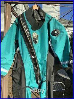WHITES Scuba Diving Dry Suit L XL cold water