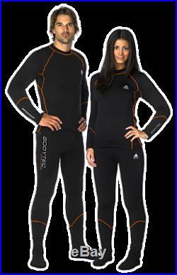 Waterproof BodyTec Dual Layer Top & Bottom Underwear & BARE Fleece Jacket SCUBA
