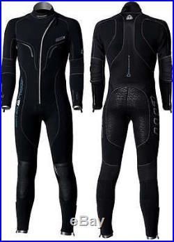 Waterproof Mens W1 5mm Scuba Diving Wetsuit / Semi Dry Suit with Front Zipper
