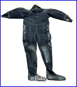 Waterproof Sweden D70SC Drysuit Med for Cold Water Scuba Diving with Size 10 Boot
