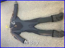 Whites (Aqualung) Fusion One Dry Suit Mens 2XS/XS