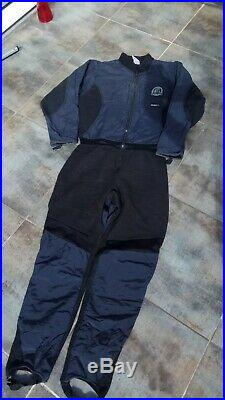 Whites (Aqualung) Nexus Dry Suit (M) with Undergarment and Boots, used once