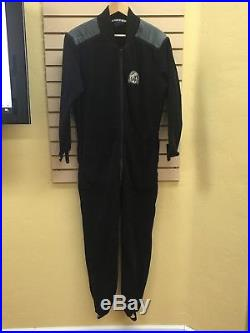 Whites Drysuit With Undergarment, M/l, Cold Water Dry Suit, Scuba Diving, Used