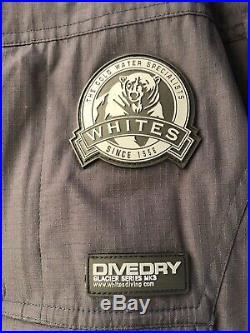 Whites Mens DIVE DRY Glacier Series MK3 Scuba Diving Undergarment-Medium -EUC