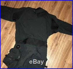 Whites SI Tech Nexus Scuba Diving Dry Suit EUC Mens Large