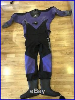 Women's Typhoon Prosport scuba drysuit size S