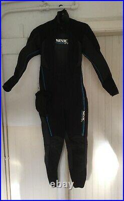 XXL SEAC MASTER DRY Diving Scuba SUIT 156cm long